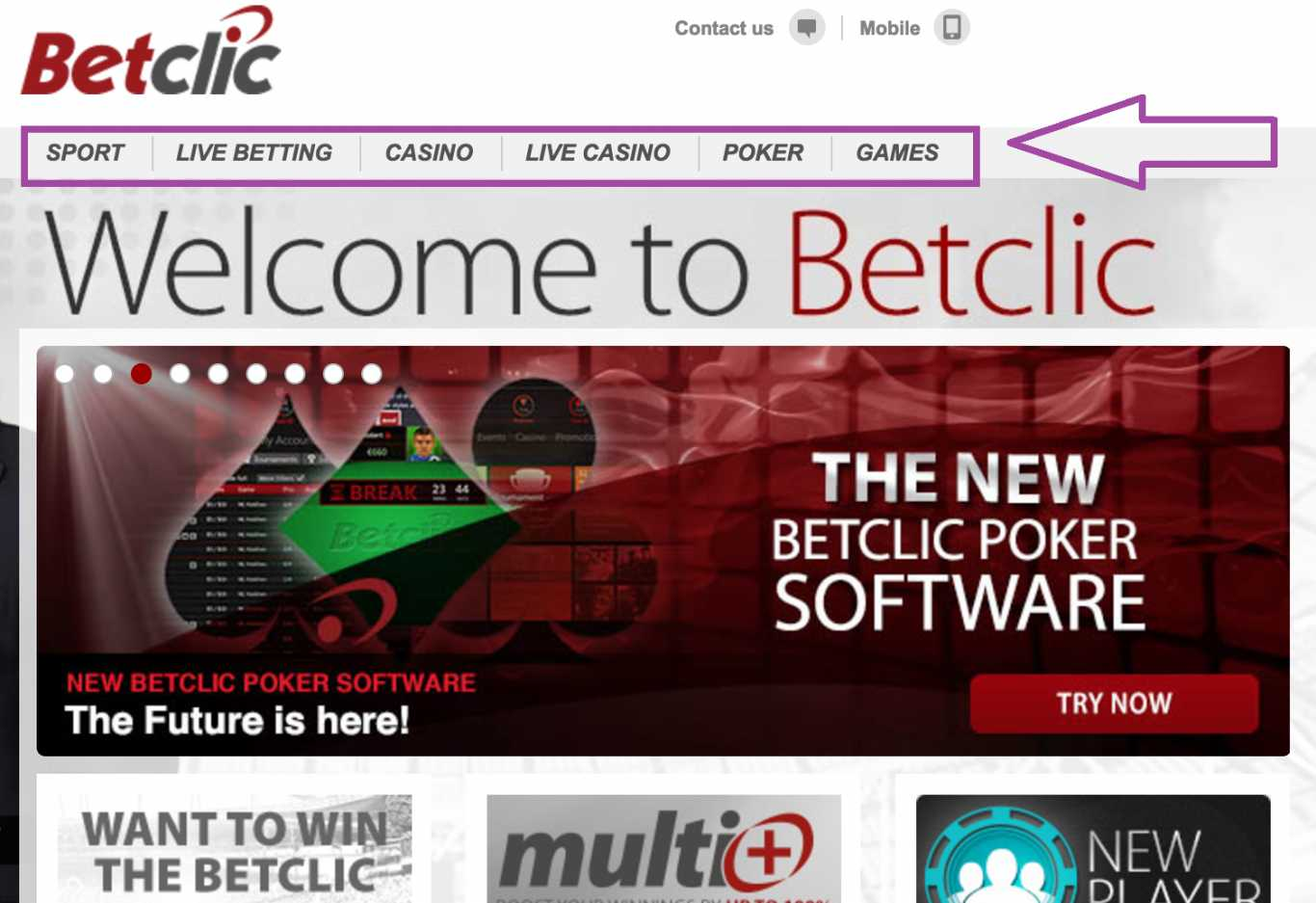 Code avantage Betclic pour le poker